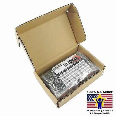 10value 100pcs 35v Electrolytic Capacitor Assortment Box Kit Us Seller Kitb0010