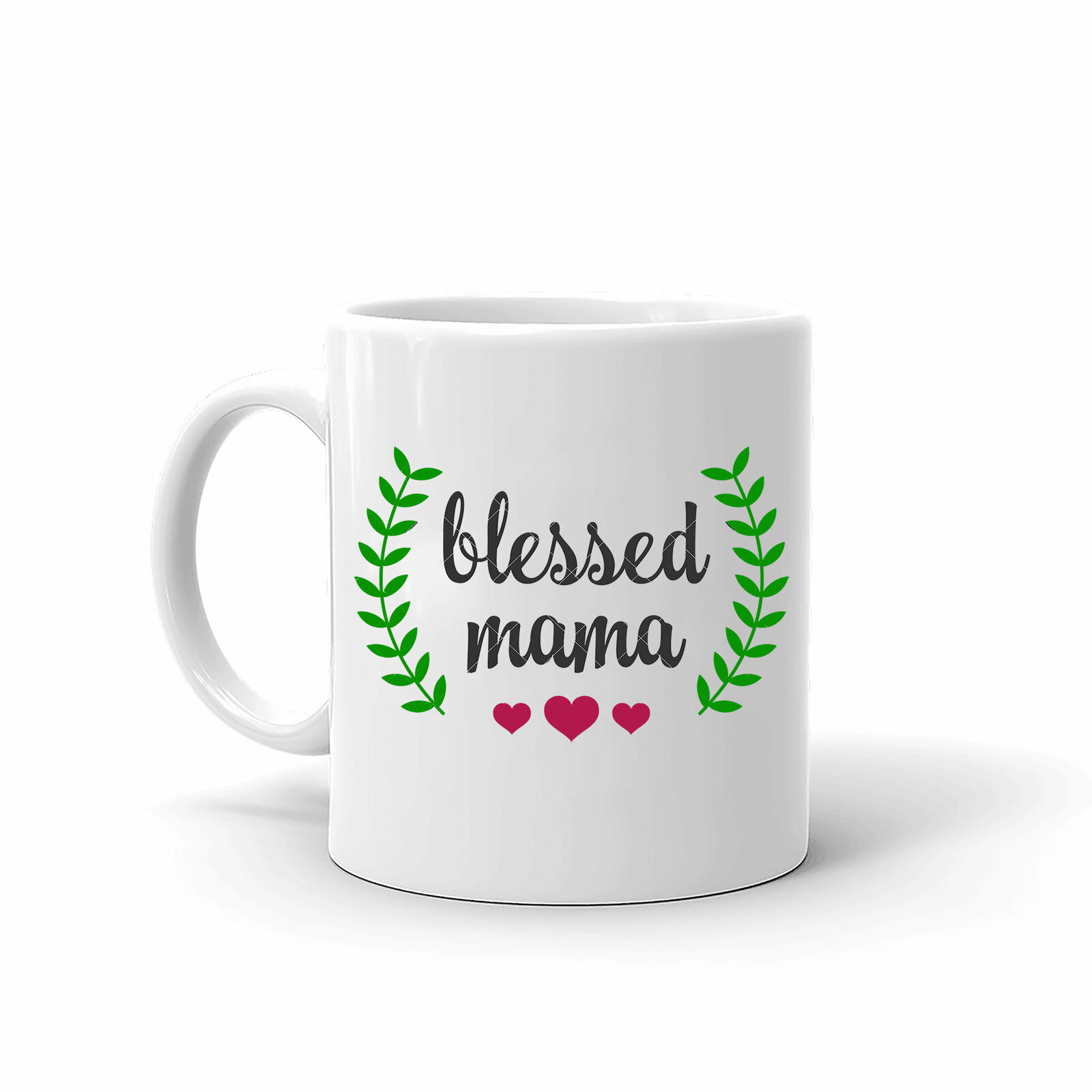 Blessed Mama Mothers Day Best Mom Unique High Quality Coffee Tea Mug 11 Oz - $13.99