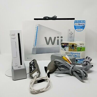 Nintendo Wii Console System White Wii Sports