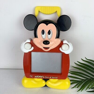 MICKEY'S ETCH A SKETCH MAGIC SCREEN OHIO ART 1991 Mickey Mouse DISNEY