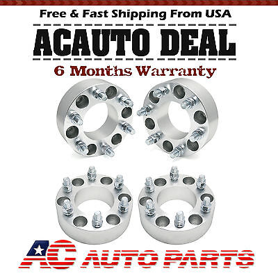 4pcs 2 Inch Wheel Spacers 6x135 14x2.0 Studs Fits Ford F-150 Expedition