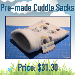 Pre-made cuddle sack for guinea pigs, rats, ferrets. Sydney City Inner Sydney Preview