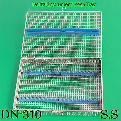 Dental Instrument Sterilization Cassette For 20pcs Stainless Mesh Tray Dn-310