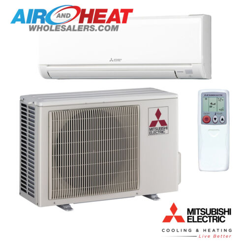 Mitsubishi - Heat Pump Inverter - 24kbtu -20.50 Seer - Mini Split - Ductless