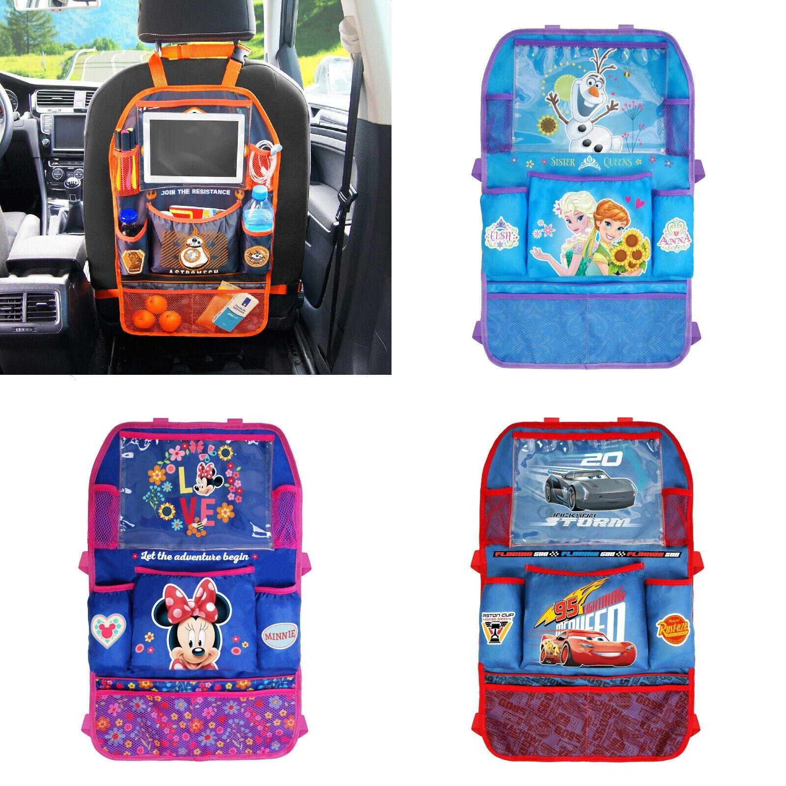 car seat back kids organizer tidy pocket