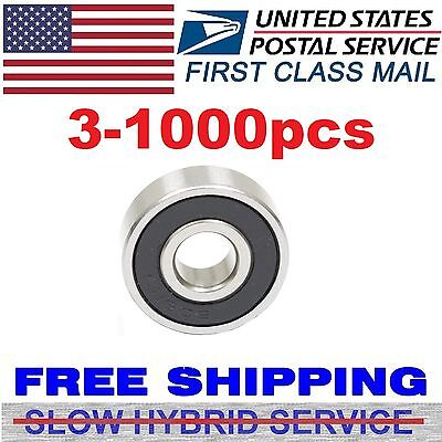 Lot 1-1000pcs Ball Bearing Dual Rubber Sealed Deep Groove Fidget Spinner 608-2RS