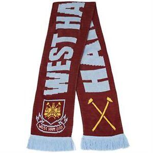 Ufficiale-West-Ham-United-Football-Club-FC-Martelli-Calcio-Woolly-Sciarpa