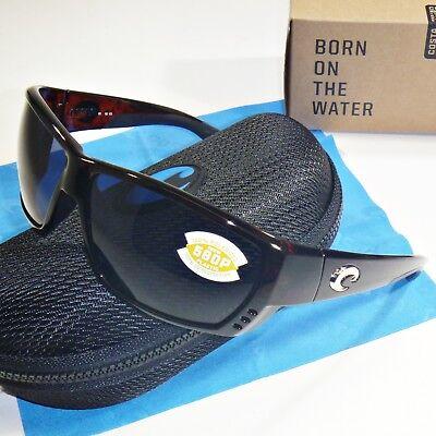 83f876507f1e Costa Del Mar Tuna Alley Polarized Sunglasses - Tortoise Frame / Gray 580P  Lens