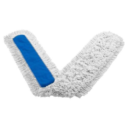"Rubbermaid FGK15900WH00 Kut-A-Way 72"" Cotton Dust Mop"