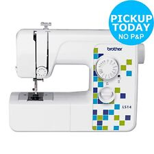 Brother LS14s Manual Stitch Sewing Machine - White