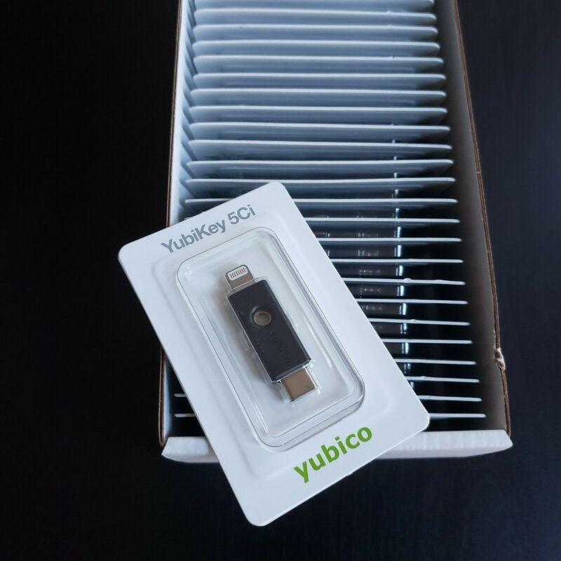 Yubico Yubikey 5Ci OTP Two-Factor Authentication USB Type-C & Lightning Sealed