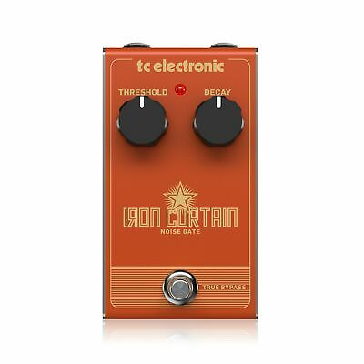 TC Electronic Iron Curtain Noise Gate Guitar Effects Pedal