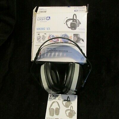 Howard Leight Viking V3 Ear Muff Protectors Black