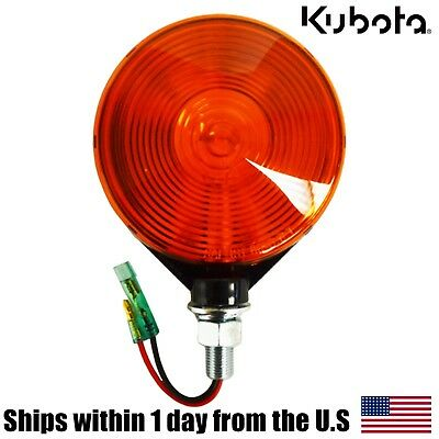 Genuine Oem Kubota 3c081-75870 Amber Hazard Light B L M Series Tractors