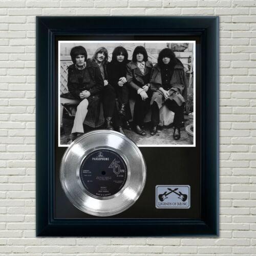 "Deep Purple ""Hush"" Framed 45 Silver Record Display"