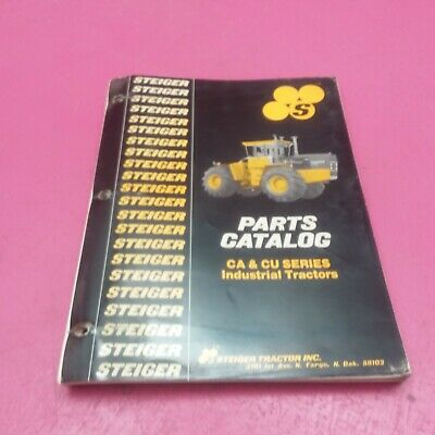 Steiger Parts Catalog Ca And Cu Series Industrial Tractors 37-101r3 Lt702