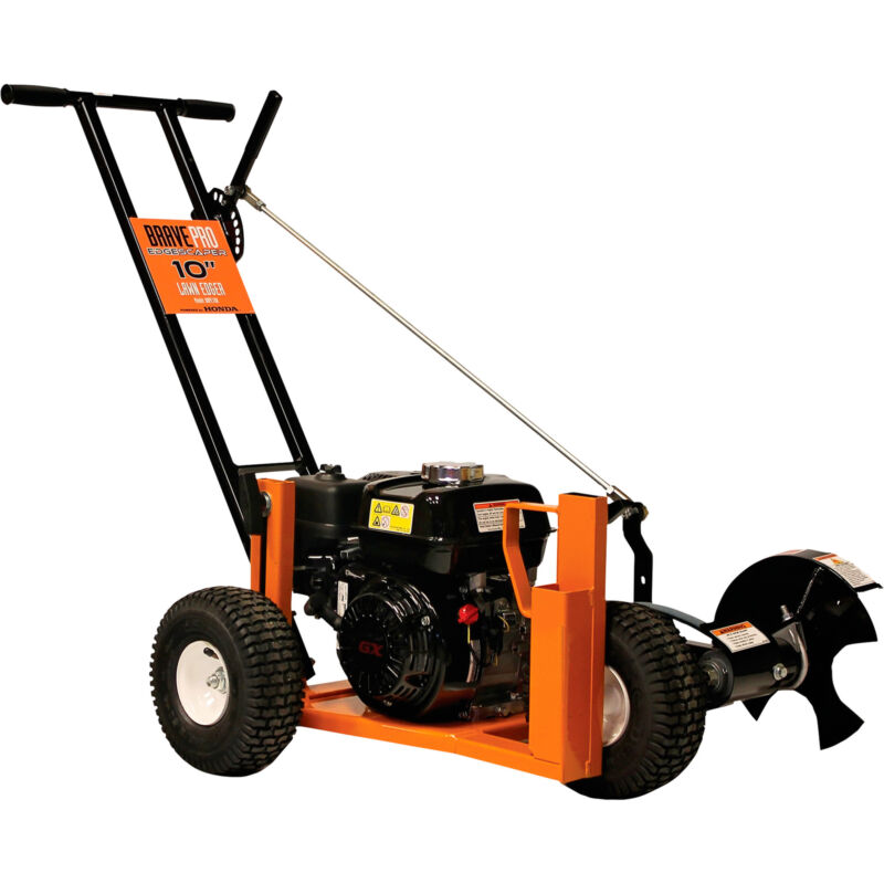 BravePro Lawn Edger - 5.5 HP, 10in Blade, Model# BRPE109H