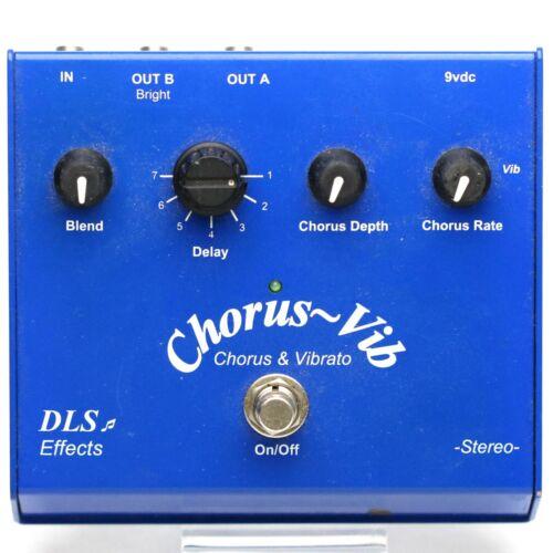 DLS Effects Chorus ~ Vib Chorus & Vibrato Guitar Effect Pedal