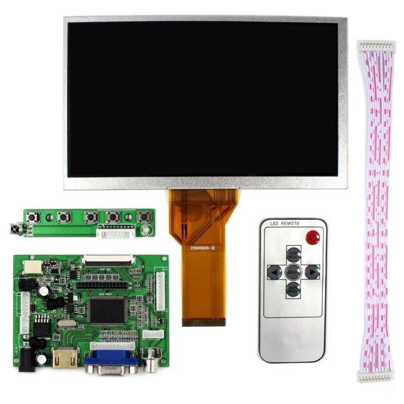 "7"" LCD Screen Display Monitor  Raspberry Pi + Driver Board AT070TN90 800*480"