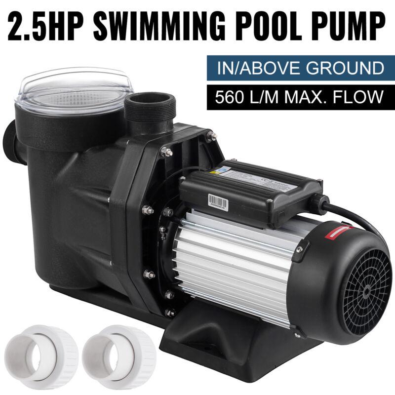 Generic 2.5HP Swimming Pool Pump Self-Priming Spa Above In Ground 1850w Motor