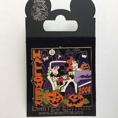 World of Disney Store New York Halloween 2008 Mickey LE 1000 - Disney Pin 65532 - Halloween Store Ny