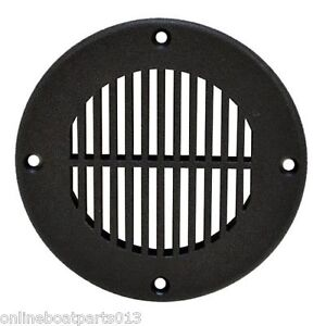 BOAT PLASTIC LARGE FLOOR DRAIN VENT COVER, COVERS 4 INCH HOLE, TH Marine FD-4