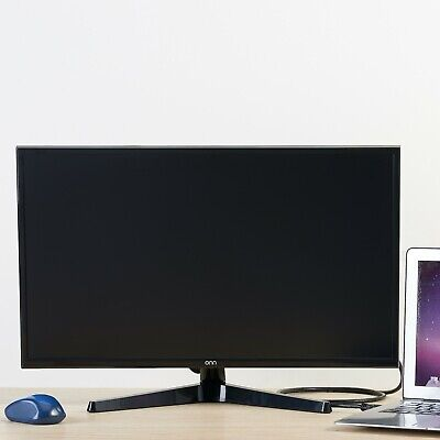 24 inch Computer Monitor ONN Full HD LED Slim Design  Input HDMI and VGA