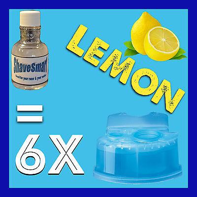 6 Lemon Braun Clean & Renew Cartridge Refills for ALL Clean and Renew