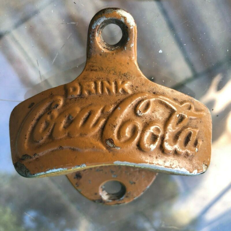 Antique COCA COLA Wall Mount Bottle Opener STARR X