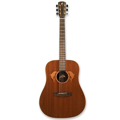 """41""""  Acoustic guitar, solid sapele mahogany top, rosewood back & sides"""