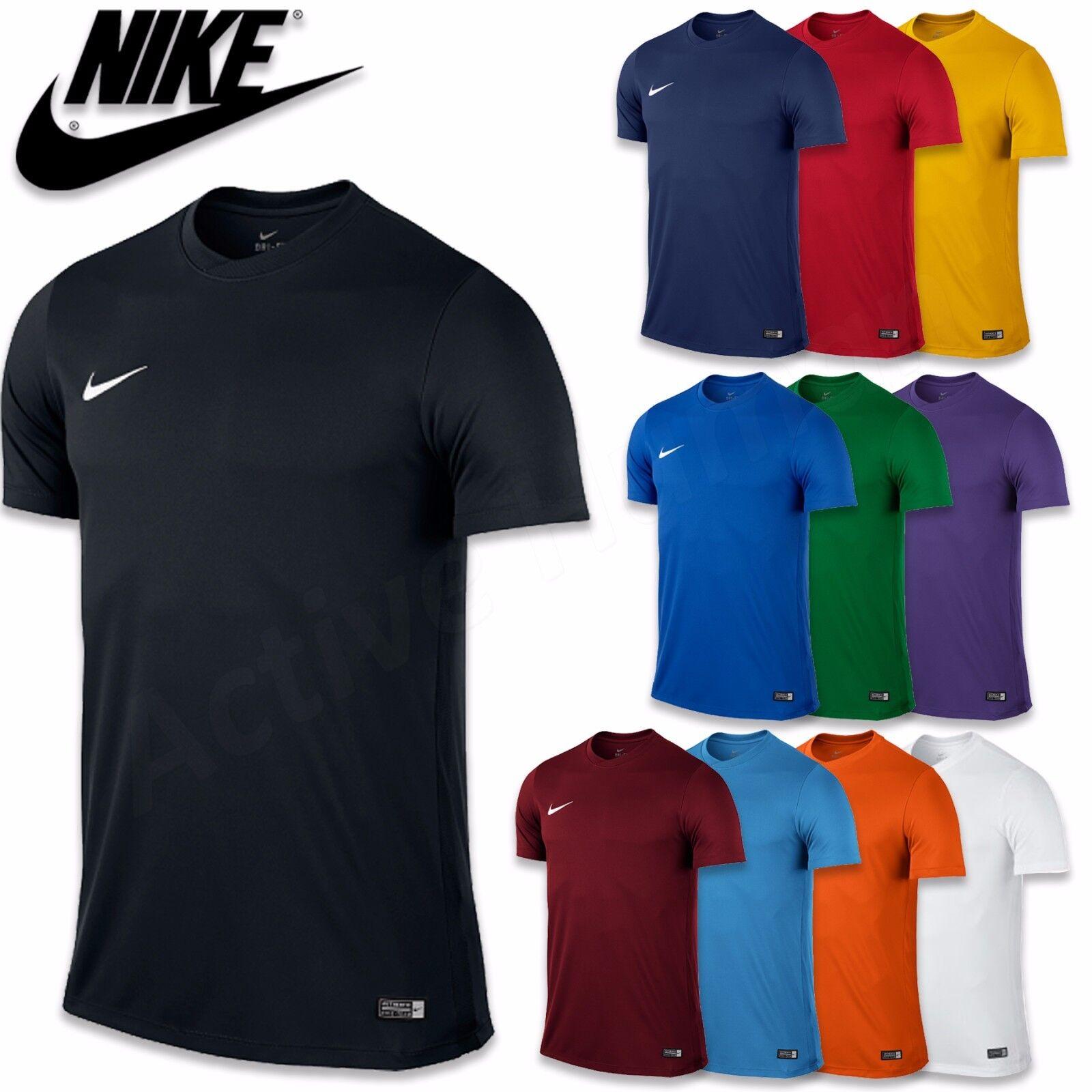 New Mens Nike Gym Sports Tee T-Shirt Top Size S M L XL XXL Black Navy Red Blue