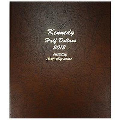 Dansco Coin Album 8167 Kennedy Half Dollar 2012-2021S WITH PROOF
