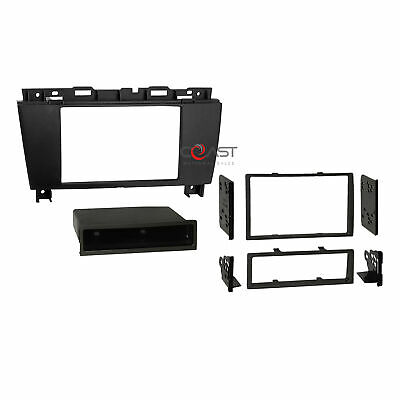 Car Radio Stereo Single Double Din Dash Kit Panel for 2005-2009 Buick Lacrosse