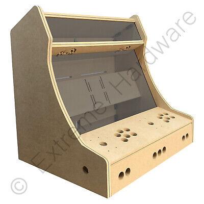 "BitCade 2 Player 24"" Bartop Arcade Machine Cabinet Flat Pack Kit - Plain"