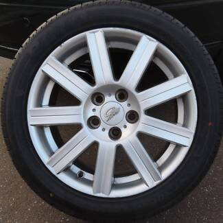 BA Ford Fairmont ghia wheels&tyres Maddingley Moorabool Area Preview