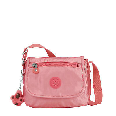 Kipling Sabian Metallic Crossbody Mini Bag