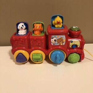 Vtech Roll & Surprise Animal train toy