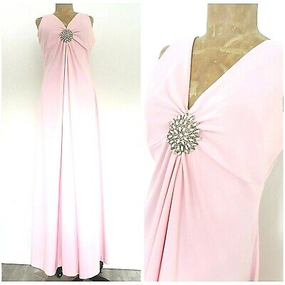 Clothes Of The 60s (Vintage 60s Beaded Maxi Dress Size Medium Rockabilly Mother of the Bride)