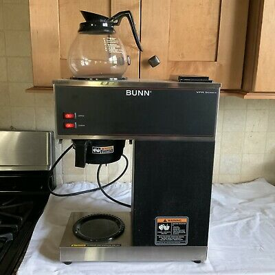 Bunn Commercial Coffee Maker Vpr Series 33200-0001 12-cup 1 Decanter Vpr Blk