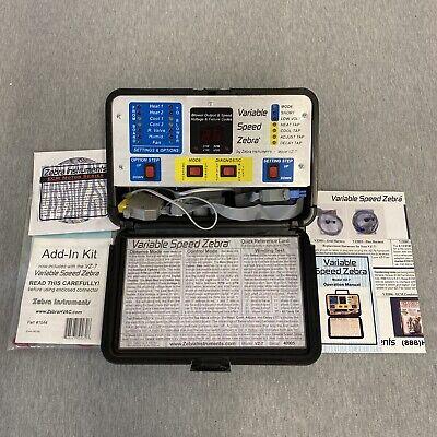 Variable Speed Zebra Ecm Diagnostic Hvac Tool Vz-7 Test Equipment