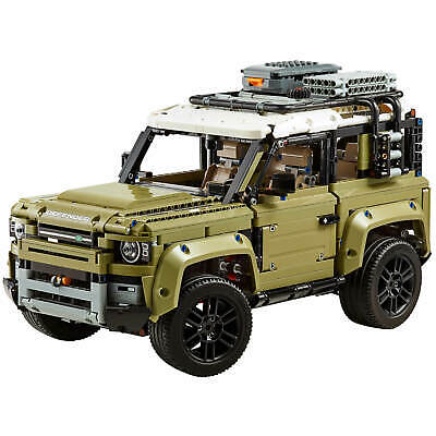 *NEW* LEGO TECHNIC: Land Rover Defender COLLECTOR's Model Car/Automobile (42110)
