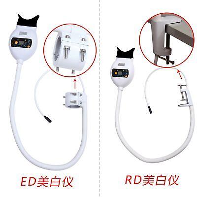 Dental 3light Color Whitening Lamp Bleaching Accelerator Armholder Table Type