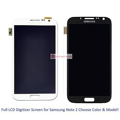 Full LCD Digitizer Screen Display Replacement part for Samsung Galaxy Note 2
