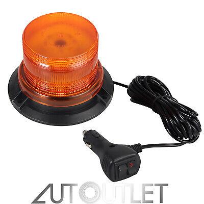 LED Luz de Emergencia Faros Intermitente Recuperacion Coche Ámbar Magnetica 12V