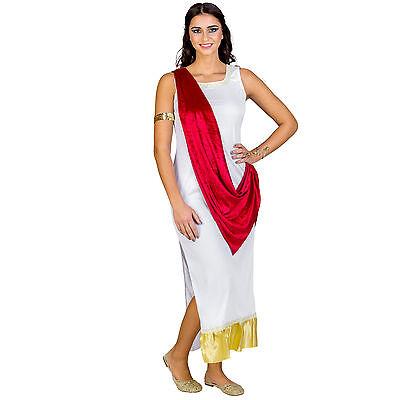 Griechische Göttin Kostüm für Damen Griechin Karneval Fasching Verkleidung Kleid ()