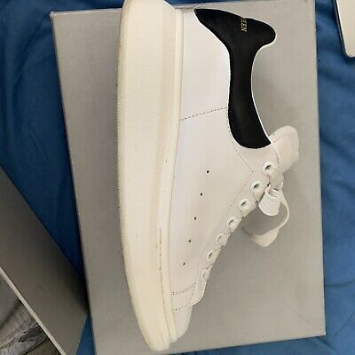 Alexander McQueen Oversized Trainers White & Black Size UK 7/EU 41 - 7.5/10 Cond