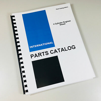 Used, INTERNATIONAL B-275 TRACTOR BD-144 4 CYLINDER DIESEL ENGINE PARTS MANUAL CATALOG for sale  Brookfield
