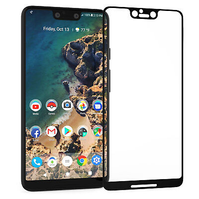 Google Pixel 3 XL Screen Protector Best Tempered Glass Thin 100% Full (Best Pixel Xl Glass Screen Protector)