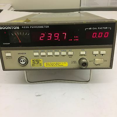 Boonton 4220 Rf Power Meter Nsn 6625 01 311 3742