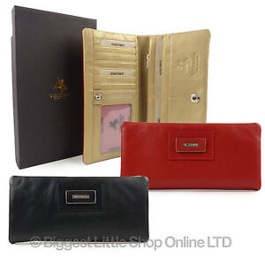 Top-Quality-Large-LADIES-LEATHER-CASHMERE-PURSE-WALLET-Visconti-Gift-Boxed-New